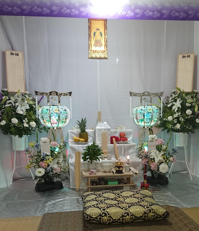 自宅での葬儀 家族、親戚も大満足でした。